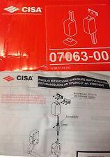 CISA ART. 07063-00-0 CHIUSURE SUPPLEMENTARI PER MANIGLIONE ANTIPANICO