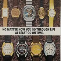 1973 Bulova Accutron Skindiver Spaceview watch photo advertisement vtg print ad