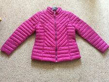 Joules ladies deep fuschia lightly padded Elodie jacket UK size 14