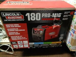 LINCOLN ELECTRIC 180 PRO-MIG/FLUX CORED WIRE FEED WELDER ( NEW) # K2481