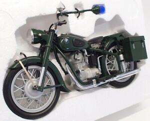Schuco 1/10 Scale Model Motorcycle 06525 - BMW R25/3 Police - Black