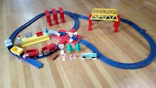 Vintage 1988 Tomy Train No. 2 - 45 pc -compatible Tomy Thomas track & Lego brick