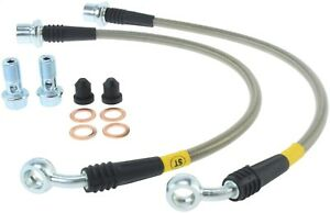 StopTech 950.44500 Stainless Steel Braided Brake Hose Kit Fits 01-14 IS F IS300