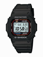 Casio G-Shock Men's Tough Solar Black Resin Band 44mm Watch Gwm5610-1