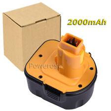 2.0Ah 12V Battery F Black&Decker A9252,A9275,PS130 PS130A Firestorm PS13 Yellow