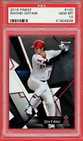 2018 Topps Finest #100 SHOHEI OHTANI RC Rookie (Angels) PSA 10 GEM MT