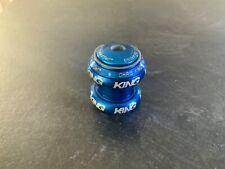 "Chris King 1 1/8"" Headset Blue"