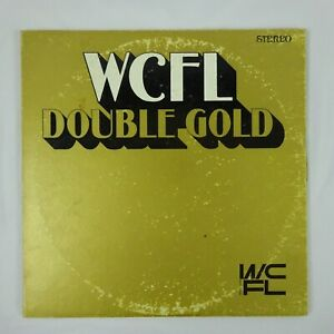WCFL 30 Double Gold Vinyl 2LP Various Artists of the 60's