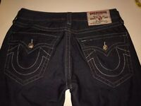 Mens True Religion Corduroy Pants Class Straight 32 x 29