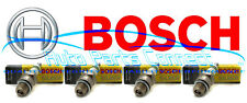 4 BOSCH SPARK PLUGS for MERCEDES BENZ C250 SLK250 2012-2015 HIGH QUALITY GERMANY