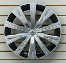 2018 2019 Toyota Camry 16 10 Spoke Silver Hubcap Wheelcover Factory Original Fits Toyota