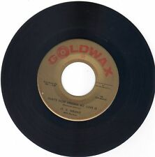 O.V. WRIGHT That's How Strong My Love Is / There Goes My Used To Be [45] Goldwax