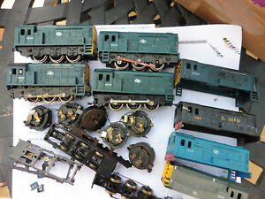 Lima Class 08 Shunters, bodies, chassis spares or repair