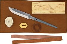 "Karesuando Kniven KAR3526 Parts Eight Piece Knife Making Kit 7.75"" Overall"