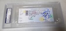King Mo Lawal Signed Rizin FF GP 12/29 2015 VIP Ticket PSA/DNA COA Bellator MMA