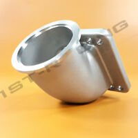 """3""""  V band TO T3T4 Flange 90 Degree Turbo Elbow Adapter Stainless Steel 304 Cast"""