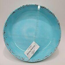 """New listing Tommy Bahama Set of 4 Turquoise Blue aqua Crackle Melamine Bowls """"New�"""