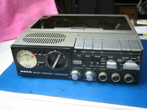 UHER 4000 Report MONITOR