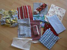Stoffpaket - bunt - 1 kg - für Puppenkleider, Kissen, Patchwork, .... neu