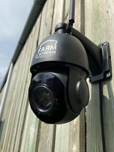 Farmstream 360 degree CCTV camera with POE (Power Over Ethernet) connectivity