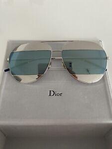 Christian Dior Split, Original, Aviator, Sonnenbrille, Wie Neu