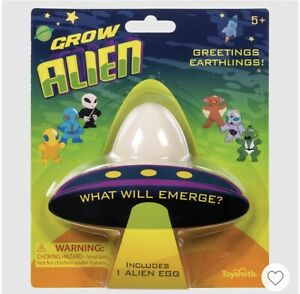 Toysmith Grow Alien Egg, What Will Emerge? Just Add Water to Hatch! New SEALED