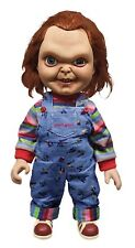 "Mezco Toyz 78002 Childs Play 2 15"" Talking Sneering Good Guy Chucky Doll"