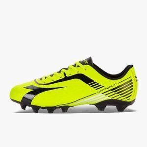 Diadora 7Fifty MG14 Yellow Black Mens Soccer Cleats