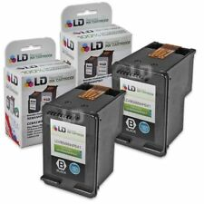 LD Remanufactured Replacements for HP 60XL / CC641WN High Yield Black Ink 2-Pack