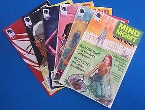MIND MGMT lot (6) issues #14-16-17-19-20-21  (2013/2014) Dark Horse Comics FINE