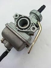 Carburador Carburador Ciclomotor PZ18 18mm C70 XR75 XR80 Motor Bicicleta Cebador Manual Brazo largo