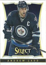 ANDREW LADD 2013-14 Panini Select Hockey Prizm Card #88 Jets