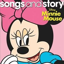 Songs and Story Minnie Mouse CD Brand New