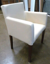 Restaurant Reception Pub Cafe Office Reception armchair cream faux leather