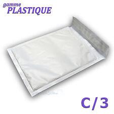 100 Enveloppes à bulles PLASTIQUE C/3 - 150x210mm