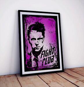 Fight Club Movie Poster | Graffiti style Art print | Size: 42 x 29.7 cm (A3)
