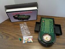 Casino Mini Roulette with chips made in China
