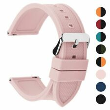Sport Bracelet Strap Silicone Watch Band 18mm 20mm 22mm 24mm Quick Release Belts