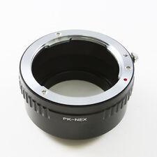 Pentax K PK Objektivadapter für Sony E mount adapter NEX-7 A7 A7R A7S II A6000