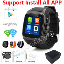 Android 4.4 Bluetooth Smart Watch 3G WIFI SIM Waterproof Phone Mate dual-core 4G