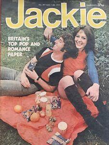 jackie magazine No.397  Aug 14th 1971,Ashton Gardener& Dyke,bee Gees