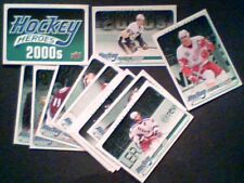 2000s UPPER DECK HOCKEY HEROES COMPLETE 13-CARD SET (HH66 - HH77)  SP