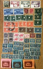 CANADA 67 BACK OF THE BOOK STAMPS- EXCISE, POSTAGE DUES, CUSTOMS, BC COURIER