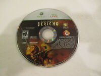 Clive Barker's Jericho  Xbox360  in Very Good Condition Game Disc Only Free Ship