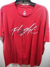 Nike Jordan Jumpman Flight Red Short Sleeve Tee T‑Shirt 908013 New! Size Xl
