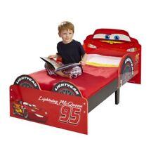 Rote Kinder-Bettgestelle ohne Matratze mit Cars