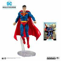 McFarlane Toys 15002-5 DC Superman Action Figure, Multicolor