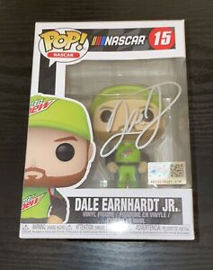 Dale Earnhardt Jr Autographed Funko Pop NASCAR Racing/ JSA