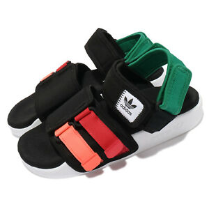 adidas Originals Adilette Sandal 4.0 Black White Men Unisex Strap Shoes GZ8827