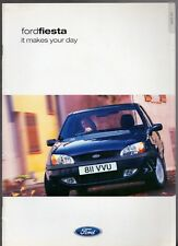 Ford Fiesta Mk5 2001-02 UK Market Sales Brochure Zetec S Ghia LX Flight Encore